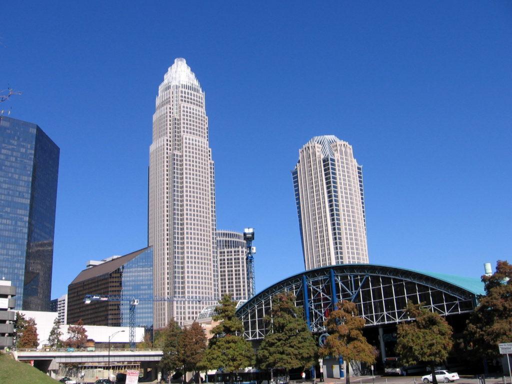 Bank of America, Charlotte NC