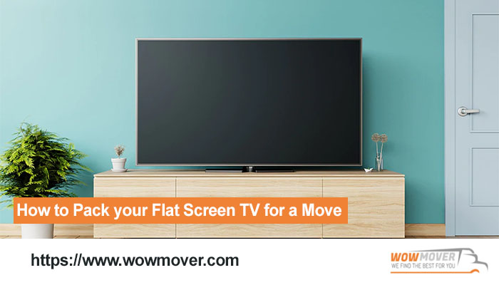How to Pack your Flat Screen TV for a Move