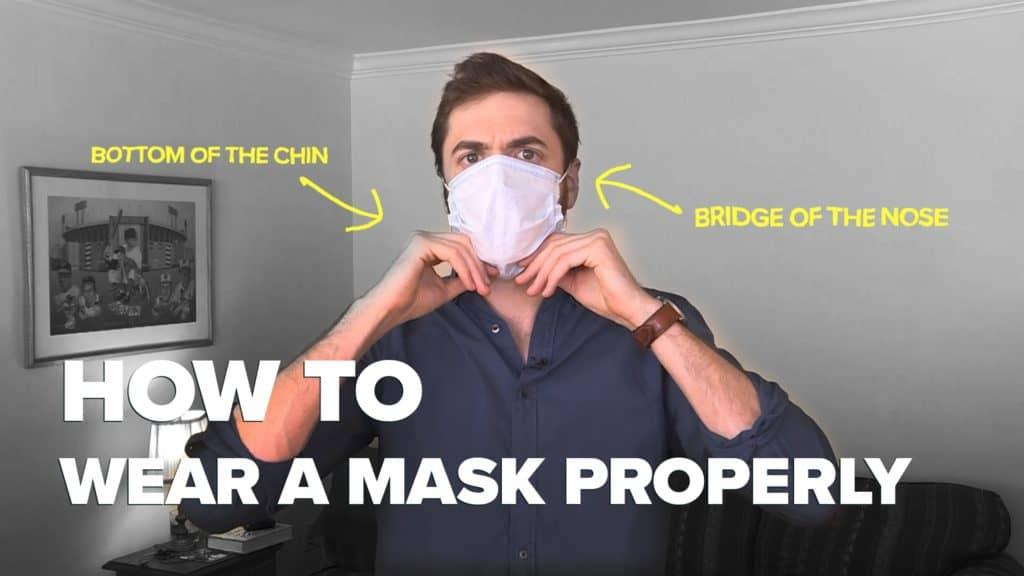 wear facemask