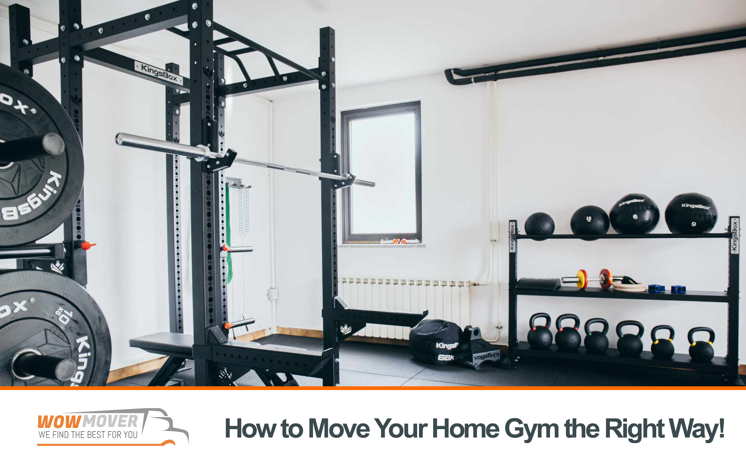 How to Move Your Home Gym the Right Way!